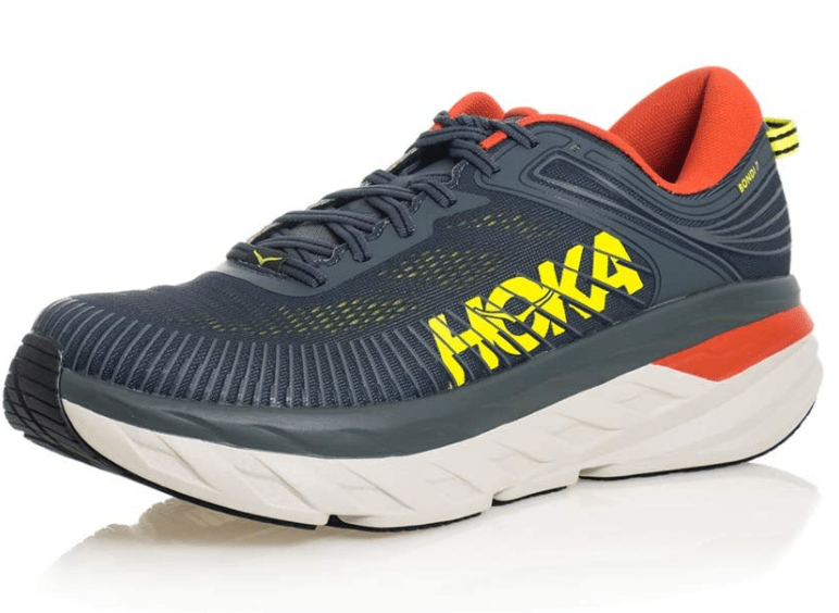 HOKA ONE ONE Men's Bondi 7-Best Athletic and Walking Shoes for Achilles Tendonitis for Men and Women