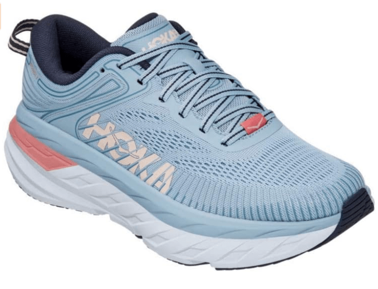 HOKA ONE ONE Women's Bondi 7-Best Athletic and Walking Shoes for Achilles Tendonitis for Men and Women