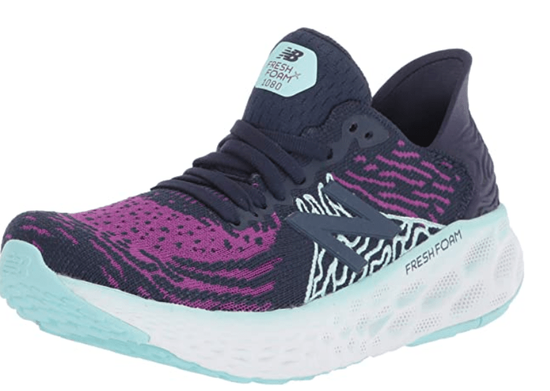 New Balance Womens Fresh Foam 1080 V10 – Best Running and Athletic Shoes for Ball of Foot Pain