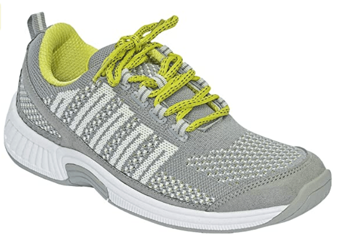 Orthofeet Women's Proven Sneakers Lava - Best Walking Shoes for Heavy Person