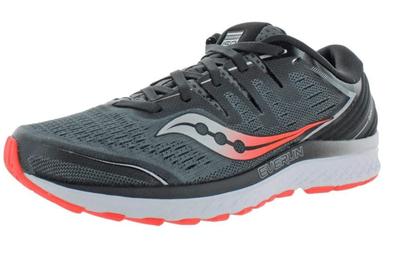 Saucony mens Guide Iso 2 – Shoes for Nurses with Flat Feet