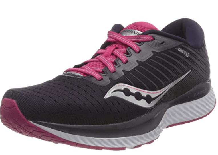 Saucony Women's Guide 13 - Good Walking and Running Shoes for Obese People