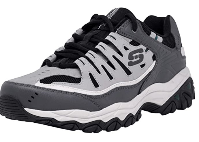 Skechers mens Lace-up Sneakers – Walking Shoes for Tailor's Bunions with Wide Toe Box