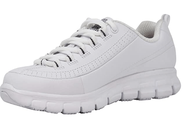 Skechers for Work womens – High Toe Box Shoes for Bunionettes
