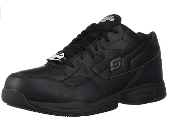 Skechers for Work mens – High Toe Box Shoes for Bunionettes