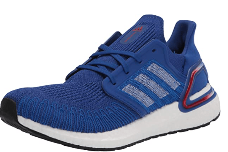 Adidas Men's UltraBoost 20  – Best Athletic Shoes for Metatarsalgia and Ball of Foot Pain