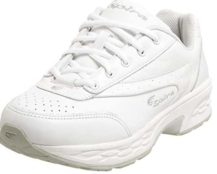 SPIRA womens Classic Leather Walking Shoes for Sciatica Nerve Pain