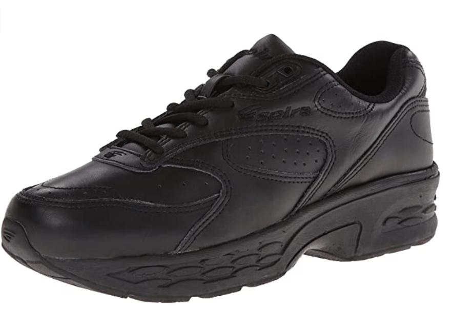 SPIRA mens Classic Leather Walking Shoes for Sciatica Nerve Pain