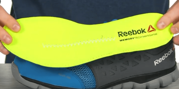 insole of reebok shoes