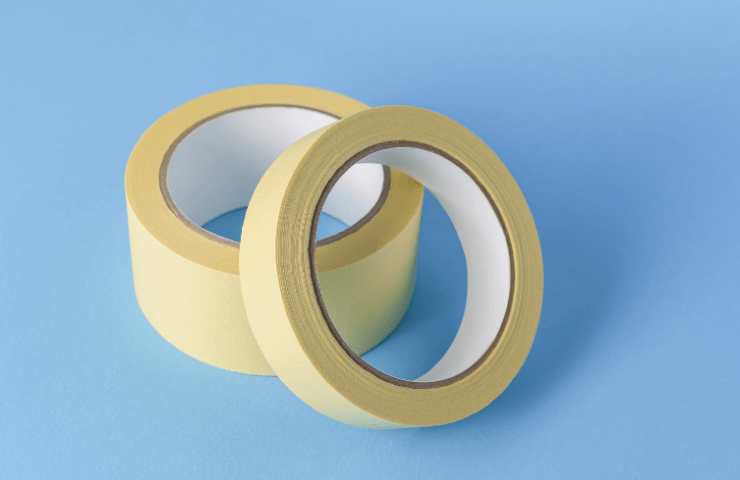 masking tape to increase slip resistance of shoes