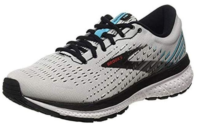 Brooks mens Ghost 13 – Lightweight Running and Tennis Shoes for Bunions and Arch Support