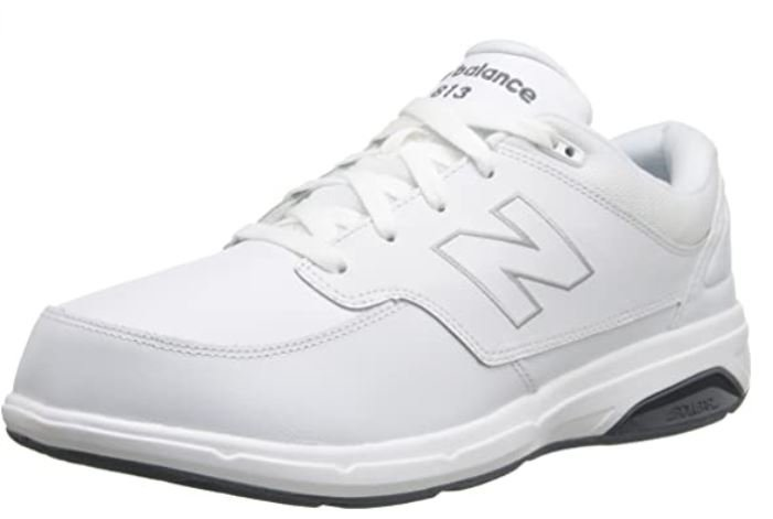New Balance mens 813 V1 Lace-up Walking Shoes for Scoliosis and Posture