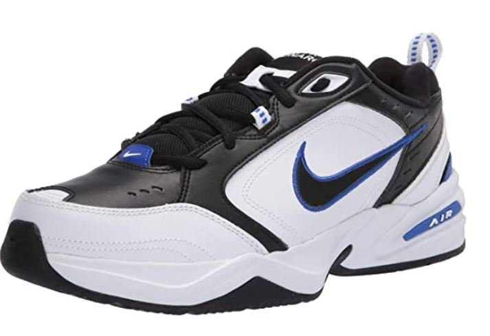 Nike Men's Air Monarch Iv (4e) – Durable Cross Trainer and Tennis Shoes for Bunions