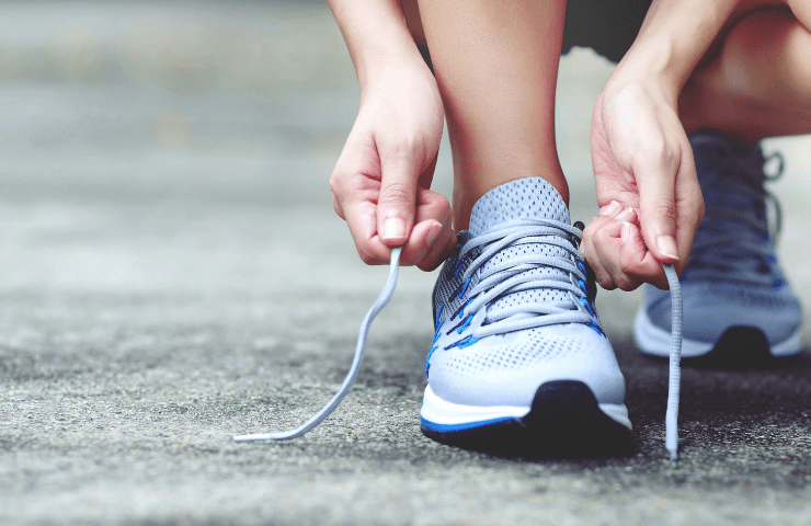 Running and sport shoes to protect your foot