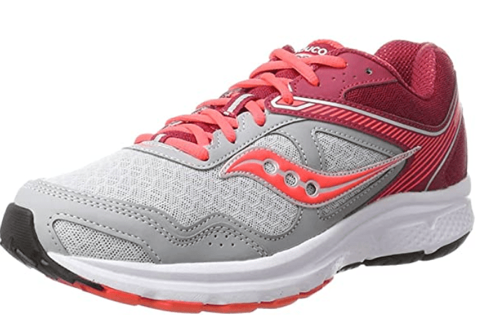 Saucony womens Cohesion 10 - Workout Sneakers for Plantar Fasciitis