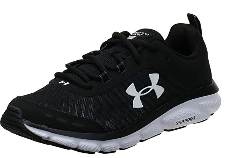 Under Armour mens Charged Assert 8 – Stable Running and Tennis Shoes for Bunions