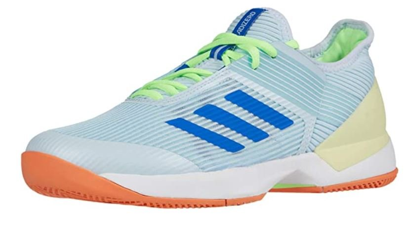 Adidas womens Adizero Ubersonic 3 – Breathable Tennis Shoes with Wide Toe Box for Bunions