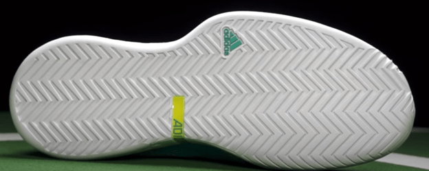 outsole of adidas shoes