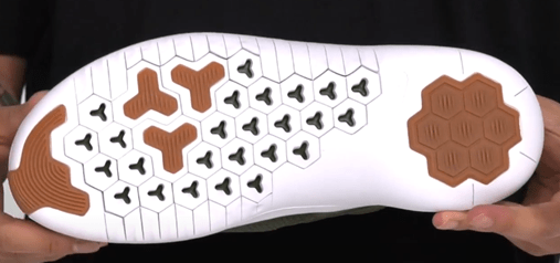 outsole of nike air max shoes for shuffling