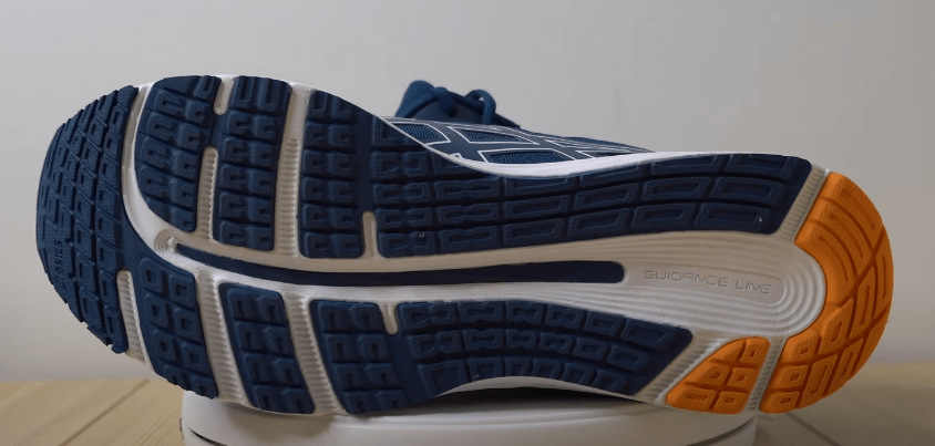 outsole of asics shoes for standing all day on concrete