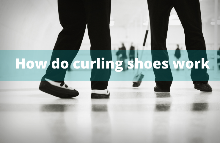 How do curling shoes work