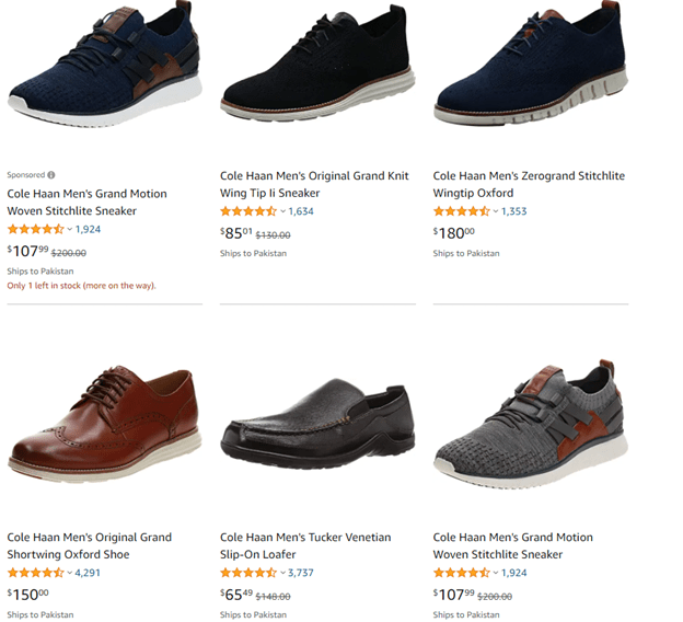 cole haan brand shoes