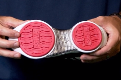 asham brand grippers for curling shoes
