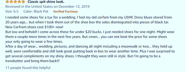 Bruno dress shoes review for moonwalk