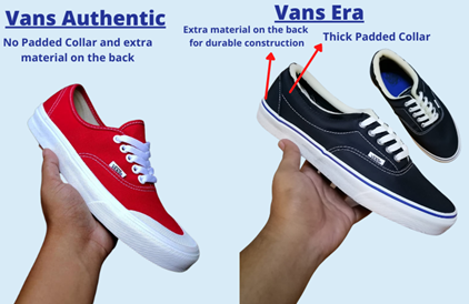 Vans Authentic vs Era