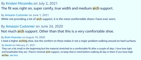 arch support reviews of hey dude shoes