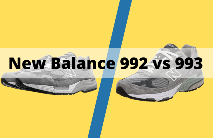 New Balance 992 vs 993: What's the Difference?