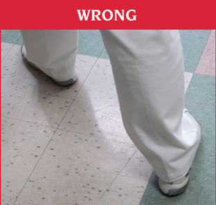 do not take wide steps after hip surgery