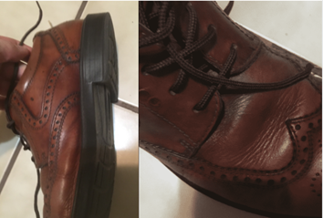 ecco dress shoes leather quality