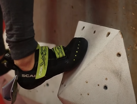 soft climbing shoes for indoor gym wall