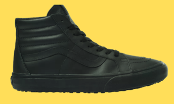 vans shoes sturdy upper to protect feet from slipping by providing a supportive fit